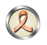 peach_ribbon_uterine_cancer_awareness_sticker-50%
