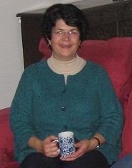 Sandee Holding Her Cup - October 2009