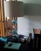 Aqua Bulb Lamp_Desk 1 #3