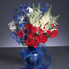 Red, White & Blue Bouquet