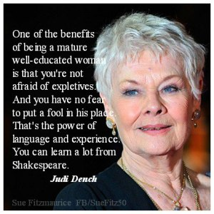 Dame Judy Quote
