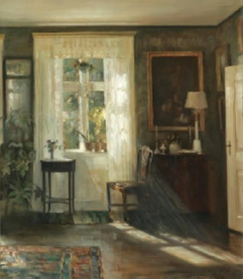 Carl Vilhelm Holsøe (Danish; 1863-1935)_www.kaifineart.com-04_Window 3.5