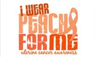I Wear Peach for Me