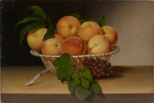 Still_Life_Basket_of_Peaches_by_Raphaelle_Peale_1816