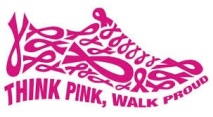 Think Pink, Walk Proud